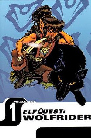 Elfquest - Image: Elfquest Wolfrider Volume 1