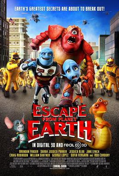 Picture of a movie: Escape From Planet Earth
