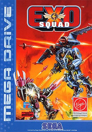 Exosquad (video game) - Image: Exosquad (video game)