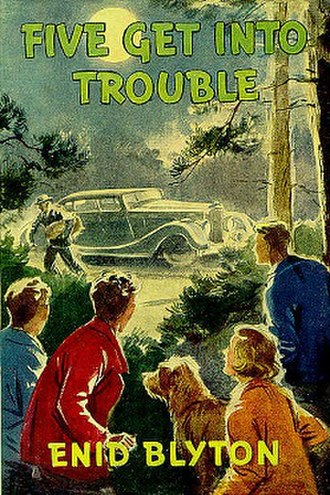 Five Get into Trouble - First edition