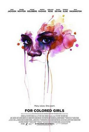 For Colored Girls - Theatrical release poster