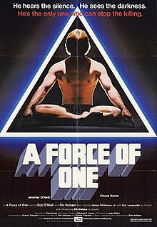<i>A Force of One</i> 1979 film by Paul Aaron