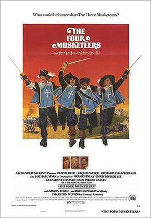The Four Musketeers (1974 film) - Theatrical poster