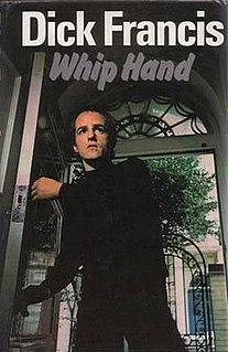 <i>Whip Hand</i> book by Dick Francis