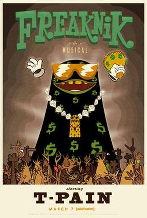 Freaknik: The Musical - Promotional poster