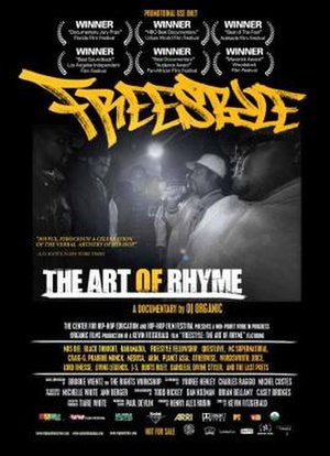 Freestyle: The Art of Rhyme - U.S. release poster