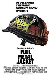1987 war drama film directed by Stanley Kubrick