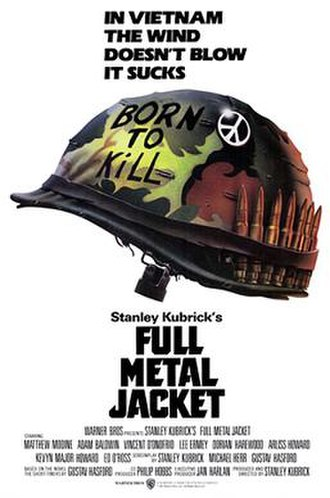 Full Metal Jacket - Theatrical release poster