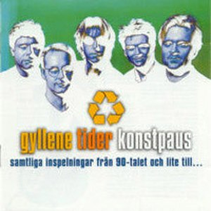 Konstpaus - Image: GT konstpaus album cover