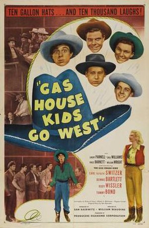 Gas House Kids Go West - Film poster