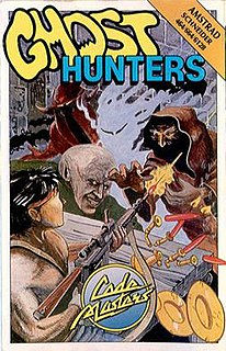 <i>Ghost Hunters</i> (video game) 1987 video game