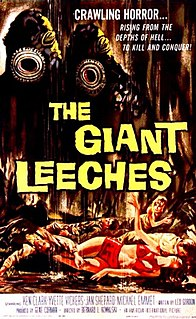 <i>Attack of the Giant Leeches</i> 1959 film by Bernard L. Kowalski