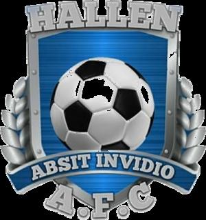 Hallen A.F.C. - Image: Hallen A.F.C. logo