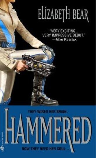 Hammered (Bear novel) - Image: Hammered by Elizabeth Bear