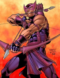 Hawkeye (Clint Barton) Fictional character appearing in American comic books published by Marvel Comics