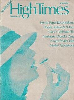 <i>High Times</i> American magazine