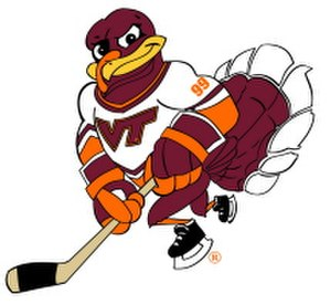 Virginia Tech Hokies - The Hokie Hockey Bird
