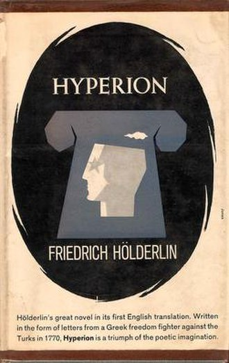 Hyperion (Hölderlin novel) - First English Edition Cover
