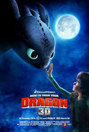 How to Train Your Dragon (film) - Theatrical release poster