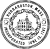 Official seal of Hubbardston, Massachusetts