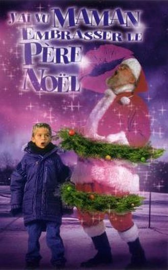 I Saw Mommy Kissing Santa Claus (film) - French film poster