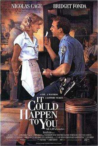 It Could Happen to You (1994 film) - Theatrical release poster