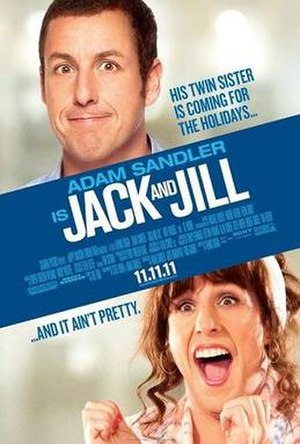 Jack and Jill (2011 film) - Theatrical release poster