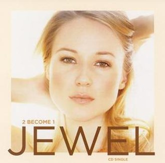 2 Become 1 (Jewel song) - Image: Jewel 2 Become 1 single cover