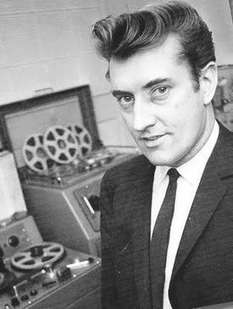 Joe Meek - Meek at his home recording studio, c. 1960s
