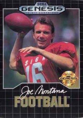 Joe Montana Football - Cover art