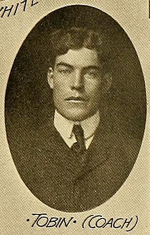 John F. Tobin - Tobin as Tulane coach in 1905