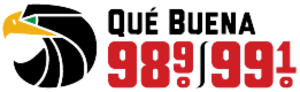 KSOL - Image: KSOL Que Buena 98.9 99.1 logo
