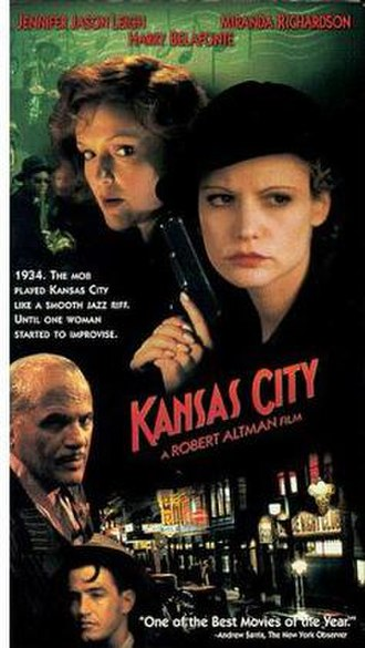 Kansas City (film) - Image: Kansas City Video Cover