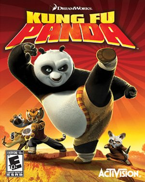 Kung Fu Panda (video game) - Image: Kung Fu Panda Game Cover