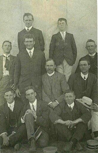 Scotch College, Adelaide - Kyre College picnic at Glenelg, 1908