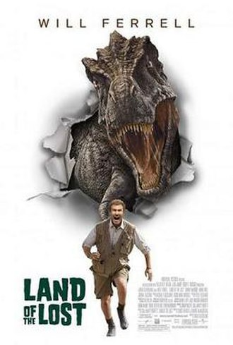 Land of the Lost (film) - Theatrical release poster