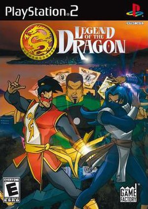 Legend of the Dragon (video game) - PlayStation 2 cover of Legend of the Dragon