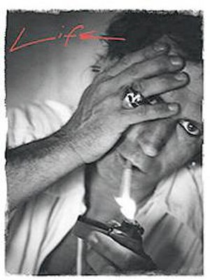 Life (Keith Richards) - Cover of the first UK edition of Life