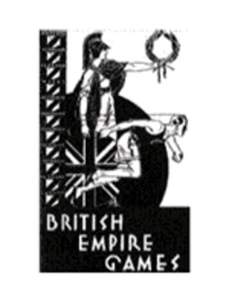 1930 British Empire Games - Image: Logo 1930 and 1934 BEG