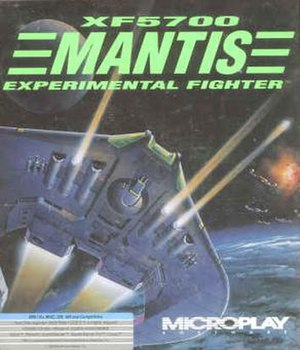 XF5700 Mantis - Cover art