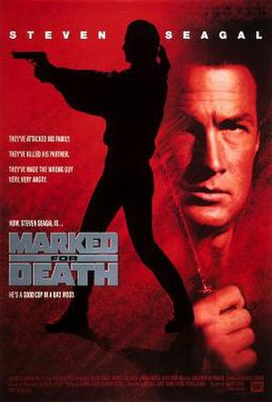 Marked for Death - Theatrical release poster
