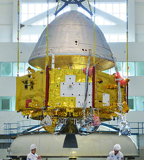 <i>Tianwen-1</i> Interplanetary mission by China to place an orbiter, lander and rover on Mars