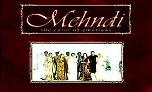 Mehndi (drama) - The opening title screen for Mehndi