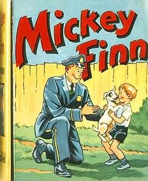 Mickey Finn (comic strip) - Mickey Finn (1940), a Little Big Book from Saalfield Publishing.