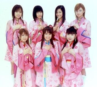 Morning Musume Sakuragumi - Morning Musume Sakuragumi, 2004. Top row (L to R): Asami Konno, Eri Kamei, Risa Niigaki, Hitomi Yoshizawa Bottom row (L to R): Mari Yaguchi, Ai Takahashi, Ai Kago