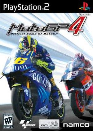 MotoGP 4 - Image: Moto GP 4 PS2 Cover