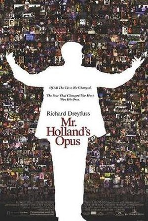 Mr. Holland's Opus - Theatrical release poster