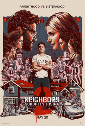 Neighbors 2: Sorority Rising - Theatrical release poster