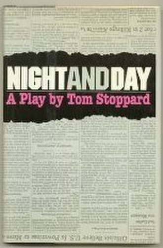 Night and Day (play) - Cover of the Grove Press edition