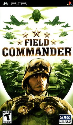 Field Commander - Image: PSP Field Commander Front Cover